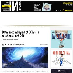 Data, mediabuying et CRM : la relation client 2.0