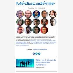 Médiacadémie n°23 - Les clefs de la transformation numérique