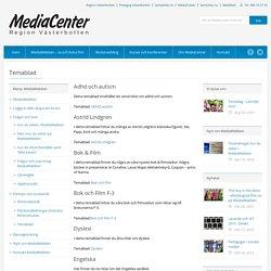 MediaCenter i Västerbotten » Temablad