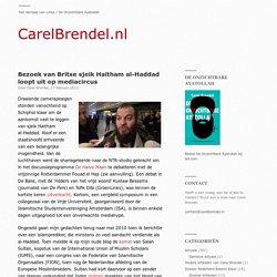 Bezoek van Britse sjeik Haitham al-Haddad loopt uit op mediacircus « CarelBrendel.nl
