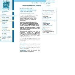 Mediadix : diplome universitaire