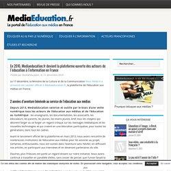 En 2016, Mediaeducation.fr devient la plateforme ouverte des acteurs de l'éducation à l'information en France