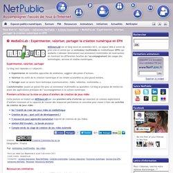 MediaEnLab : Expérimenter, valoriser, partager la création numérique en EPN
