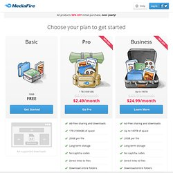 Free File Sharing Made Simple - MediaFire