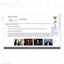 JISC MediaHub - Explore by Collection