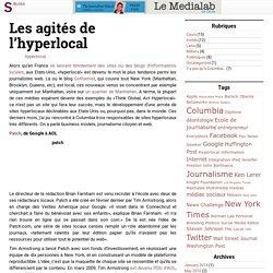 Le Medialab de Cécile » Les agités de l'hyperlocal