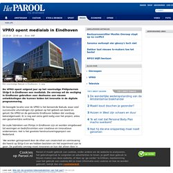 VPRO opent medialab in Eindhoven