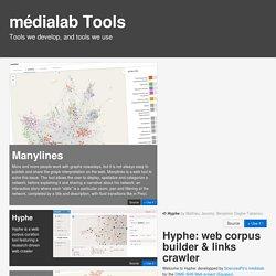 Médialab Tools