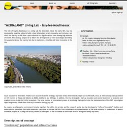 """MEDIALAND"" Living Lab – Issy-les-Moulineaux"
