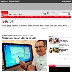 Médialexie: la clef USB du succès