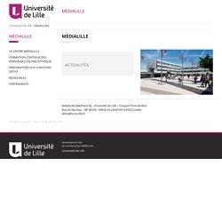 MédiaLille - Université Lille 3 - Sciences Humaines et Sociales