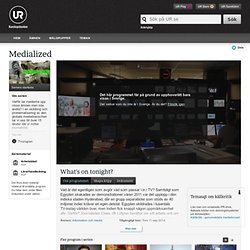 Medialized: What's on tonight?