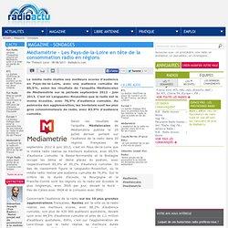 Médiamétrie - Les Pays-de-la-Loire en tête de la consommation radio en régions