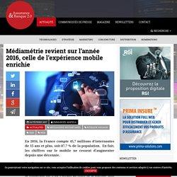 Médiamétrie revient sur l'année 2016, celle de l'expérience mobile enrichie