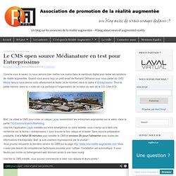 Le CMS open source Médianature en test pour Entreprissimo