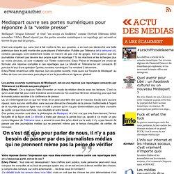 """L'actu media web - Mediapart ouvre ses portes numériques pour répondre à la """"vieille presse"""""""