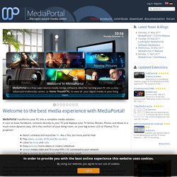 MEDIAPORTAL - free media center - Home
