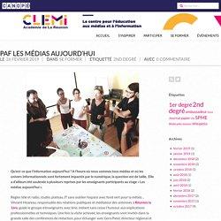 PAF Les médias aujourd'hui – CLEMI La Réunion