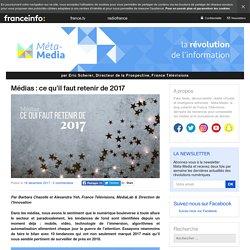 Médias : ce qu'il faut retenir de 2017