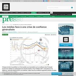 Les médias face à une crise de confiance généralisée (INA, 2017)