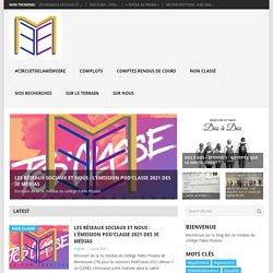 Education aux médias – CLG Picasso
