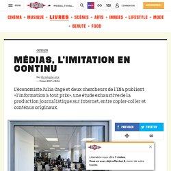 Médias, l'imitation en continu