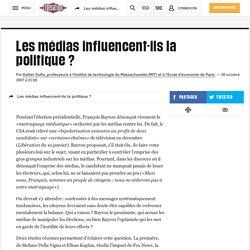 Les médias influencent-ils la politique ?