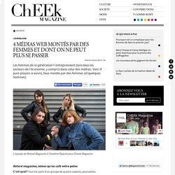 4 médias Web montés par des femmes et dont on ne peut plus se passer