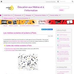 Les médias scolaires et lycéens à Paris