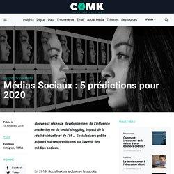Médias Sociaux : 5 prédictions pour 2020