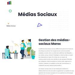 Gestion des médias-sociaux Maroc