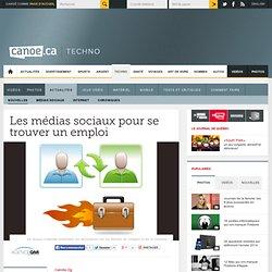 Canoë - Techno-Sciences - Les médias sociaux pour se trouver un