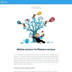 Médias sociaux Vs Réseaux sociaux