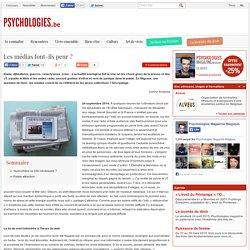 Les médias font-ils peur? - Société - Psychologies.be