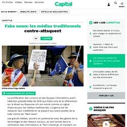 Fake news: les médias traditionnels contre-attaquent