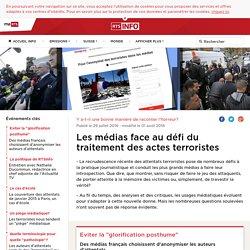 Les médias face au défi du traitement des actes terroristes - rts.ch - Monde