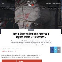 Des médias veulent nous mettre au régime contre «l'infobésité»