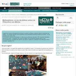 Médiasphères, un jeu de plateau autour de l'Éducation aux Médias - L'Atelier Canopé 78 – Marly-le-Roi
