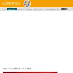 Mediataitoviikko - Mediataitokoulu