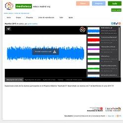 Canal de audio del Proyecto