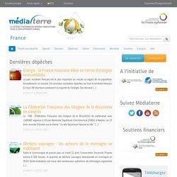 Médiaterre France, l'actualité du développement durable en France
