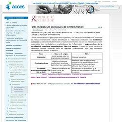 Des médiateurs chimiques de l'inflammation