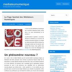 La Page Spotted des Médiateurs Numériques