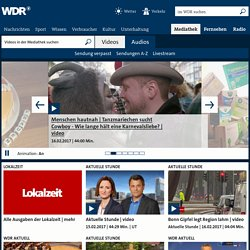 Startseite - WDR MEDIATHEK