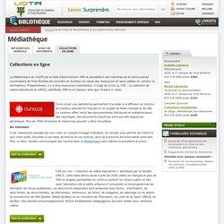 Médiathèque - Bibliothèque - Université du Québec à Trois-Rivières