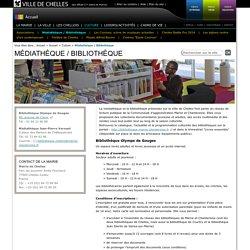 Médiathèque / Bibliothèque - Culture - Ville de Chelles (77-Seine-et-Marne)