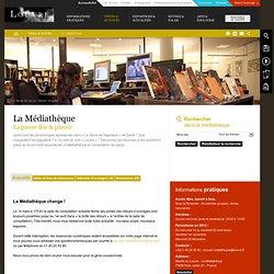 La Médiathèque du Louvre, la pause doc et plaisir pour tous. Livres, albums, vidéo, conférences...