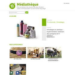 Médiathéque Ecoemballages