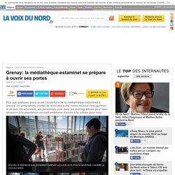 Grenay: la médiathèque-estaminet se prépare à ouvrir ses portes