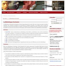 Médiathèque Hector Berlioz CNSMDP